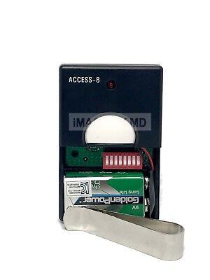 garage door opener 310 Mhz transmitter Linear Delta 8 dip switches ()