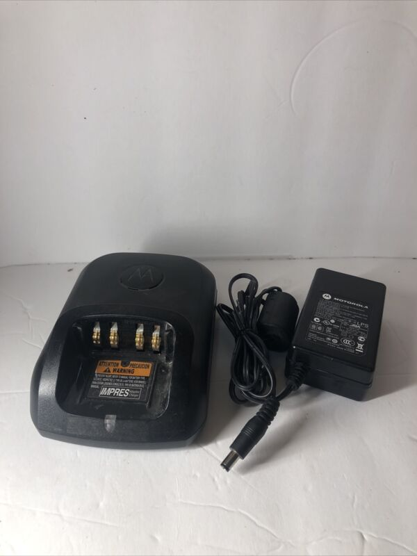 MOTOROLA IMPRESS CHARGING BASE AND POWER SOURCE WPLN4243A -- READ