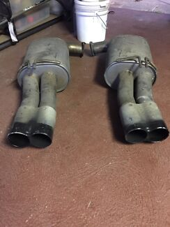 Holden ve walkinshaw 3 inch mufflers with 3 inch tips.  Woodvale Joondalup Area Preview