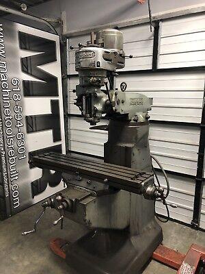9 X 42 1hp Bridgeport Vertical Milling Machine