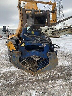 Cat 308 Eexcavator Demolationsorting Grapple