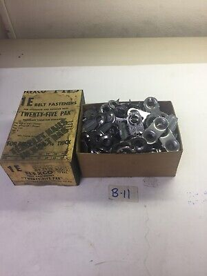 Flexco Steel Belt Fasteners 1 E 104 Plates 50 Clips Fast Shipping