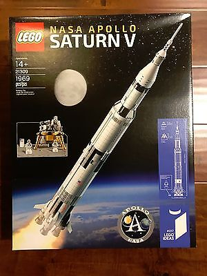 Brand New  Lego Ideas 21309 Nasa Apollo Saturn V 1969 Pcs In Hand Ready To Ship