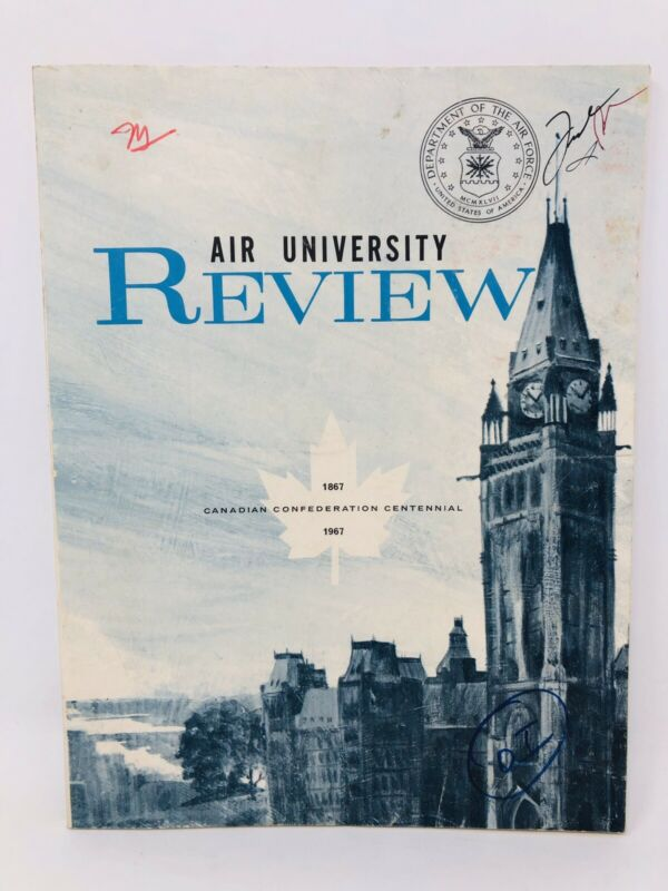Rare US Air Force 1967 Air University Review Canadian Confederation Centennial
