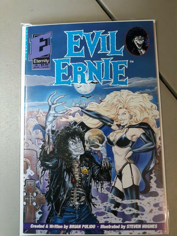 Evil Ernie 2 1st Lady Death Cover 1992 Eternity Comics