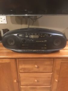 JVC ghetto blaster boombox excellent sound