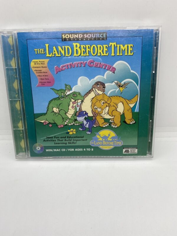 Land Before Time Activity Center Pc Cd Rom