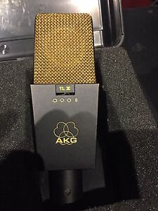 Legendary AKG C-414 or AKG C-214 with case and shockmount