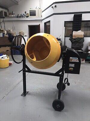 550W 125L Drum Portable Electric Concrete Cement Mixer.