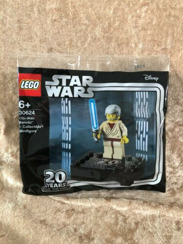 LEGO+30624+Obi-wan+Kenobi+20th+Anniversary+Minifigure+Rare