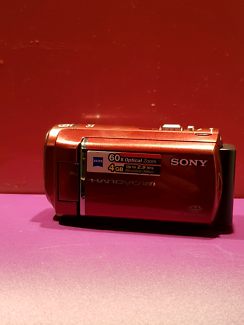 Sony DCR-SX40/R 4GB Camcorder Including 16GB Sony SD card