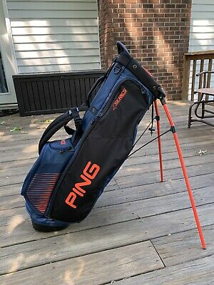 Ping 4 Series Golf Stand Bag Dual Strap Excellent!