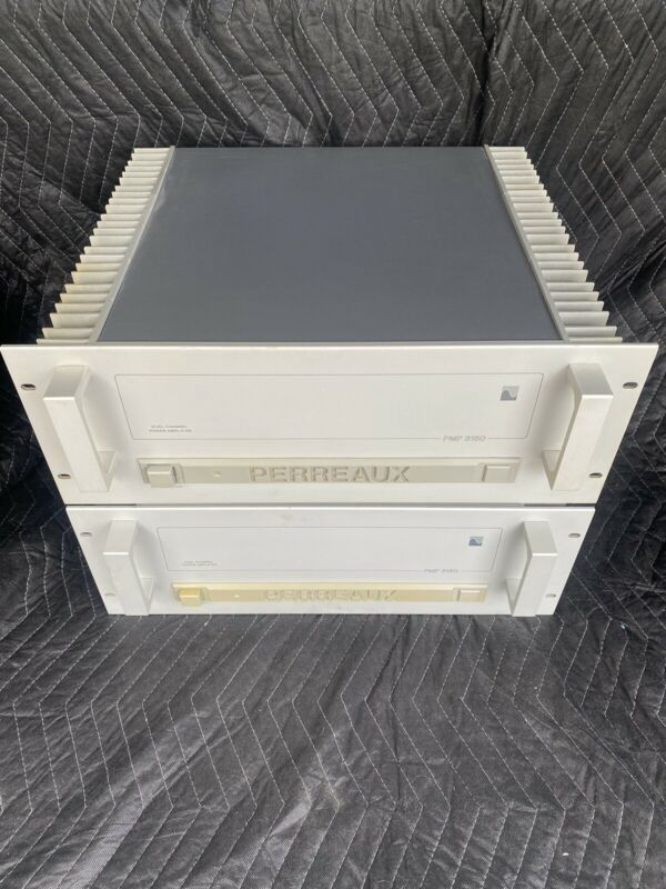 Vintage Perreaux PMF 3150 300 Watt Power Amplifier