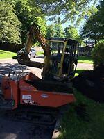 Rénovation GT excavation