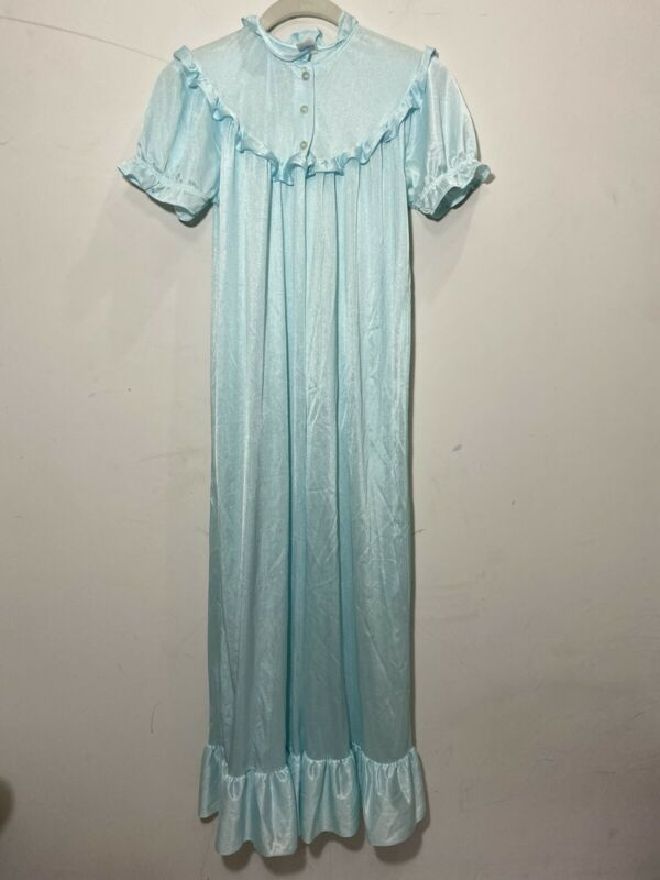 Vintage Girls Nylon Nightgown Her Majesty Size 12