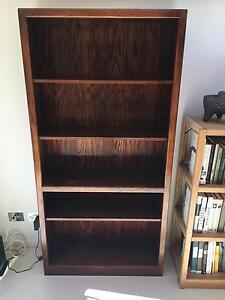Dark Wood bookcase Paddington Eastern Suburbs Preview