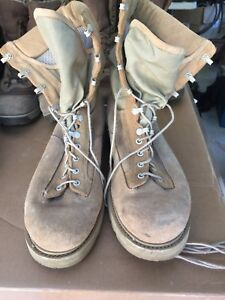 Canadian Military desert tan boot