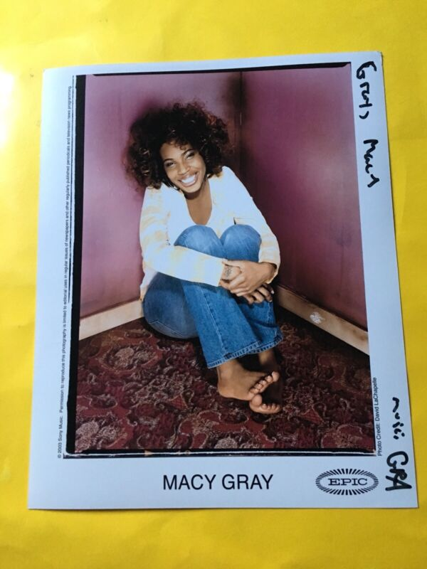 "Macy Gray Press Photo 8x10"", Epic 2003. Photo: David LaChapelle."