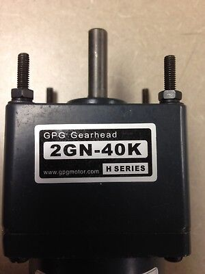 Gpg 24v Dc Motor Gearbox 3200 Rpm 25 Watts 1.74 Amps 0.76 Kg.cm Torque