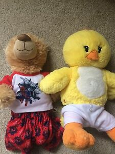 Stuff animals selling for 5 each