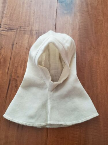 Ruskovilla Balaclava 100% Organic Wool Size 1-2 Winter Mask Hat Toddler Baby