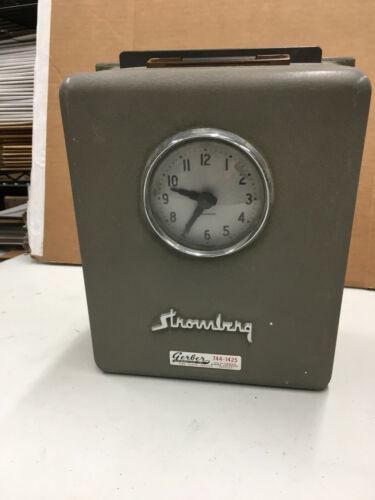Stromberg Time Clock Model 14