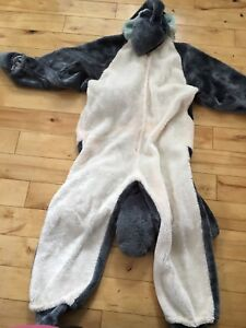 Dolphin costume size 8/10