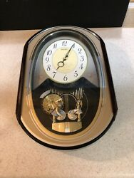 Seiko Hi-Fi Melodies in Motion Wall Clock plays Disney Music RARE Works