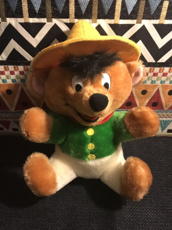 """Looney Tunes - Mexican Mouse Speedy Gonzalez Plush Doll - Collectors -9"""" Tall"""