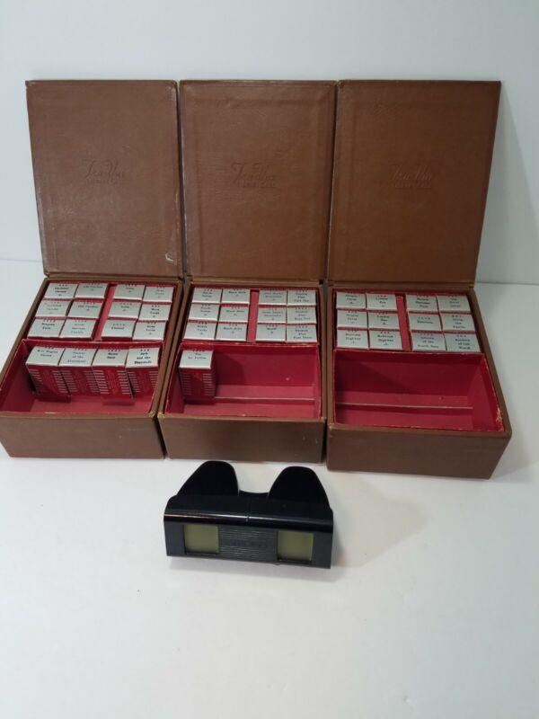 Tru-Vue Lot 3 Boxes, 1 Viewer, 41 Rolls