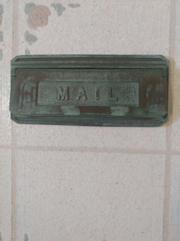 Mailbox, Brass, Vintage