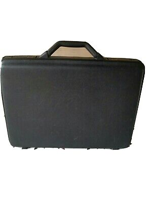 Samsonite hard shell briefcase black, slim and lockable