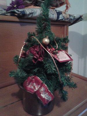 Weihnachtsbaum Kaufen Pforzheim.Gebraucht Kl Künstlicher Tannenbaum Dekoriert