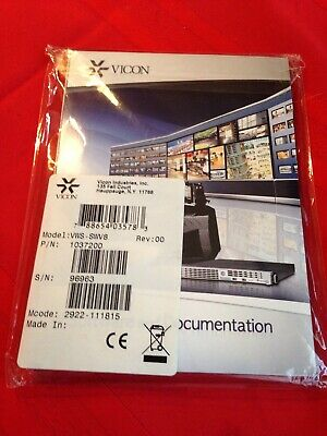 Vicon Viconnet Version 8 Workstation Software Vws-swv8 New Sealed Singlelicense