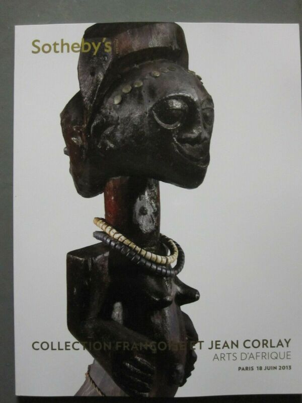 Sotehby 6/18/13 antique Tribal Afican figures, masks