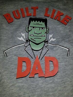 Crazy 8 Toddler Boys Frankenstein Long Sleeve Tee 18-24 Months NWT (Toddler Frankenstein)