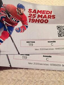 Montreal Canadiens vs. Ottawa Senators Hockey Tickets