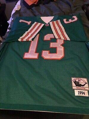 e1e49211 Vintage Dan Marino Mitchell & Ness Jersey Miami Dolphins Size 48 1994