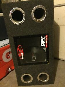 2x12' Rockford Fosgate subs plus box