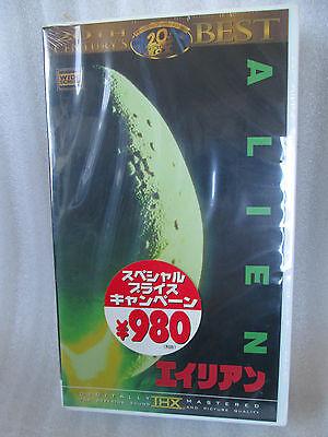 Alien  / Ridley Scott   Japanese original  THX  VHS
