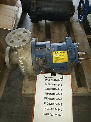 Griswold Stainless Steel Pump 1.5 X 1x6