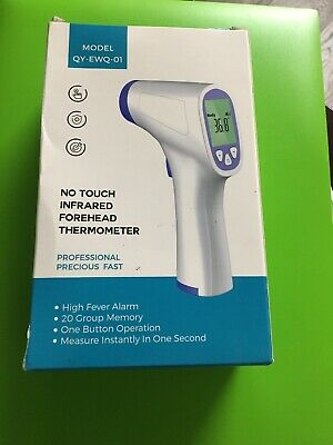 Professional No Touch Infared Forehead Thermometer Model Qy-ewq-01