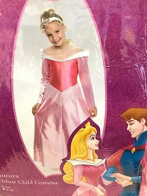 Disney Aurora Halloween Costume (Disney Princess Aurora Deluxe Childs Costume 4-6 Halloween Dress)