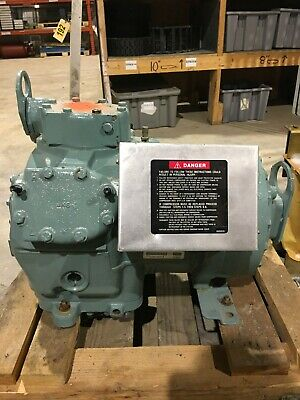 Carlyle 06da502184 3 Ph 10hp 400460v Commercial Compressor 06dr3370da3650 Used