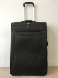 Samsonite suitcase black 74cm height Marrickville Marrickville Area Preview