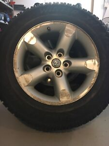Winter tires and rims for Dodge Ram