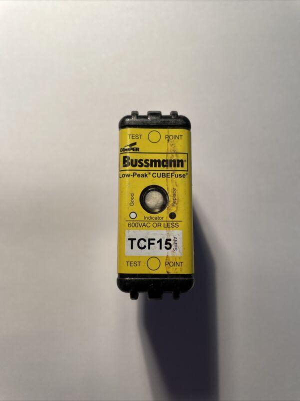 Pack of 1 Bussmann TCF-15 Fuses TCF15