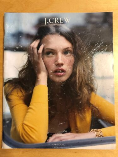 J Crew September 2008 Prague Fashion Clothing Catalog