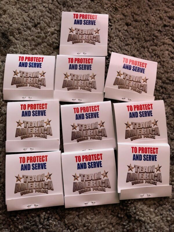 Team America World Police 10 pack novelty condoms