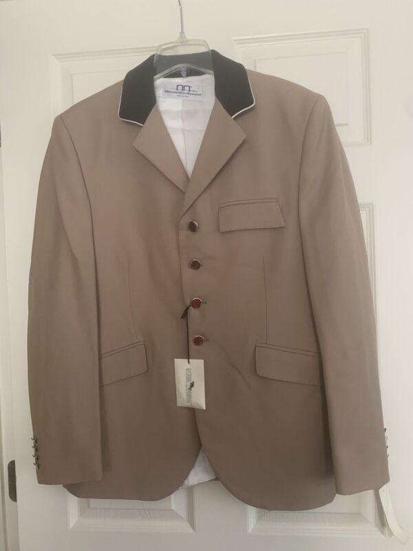 Allesandro Albanese 100% Wool Show Equestrian Jacket Men